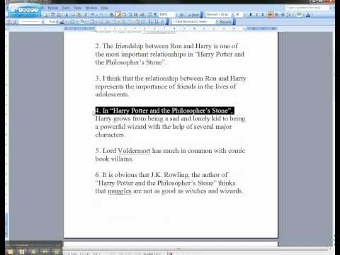 Help me write a good thesis statement - Stonewall Services