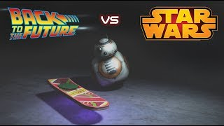 Back to the future Hoverboard and BB8