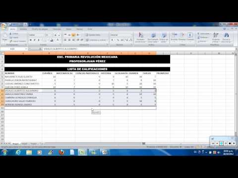 Practica de Excel rumbo a Certificación HDT