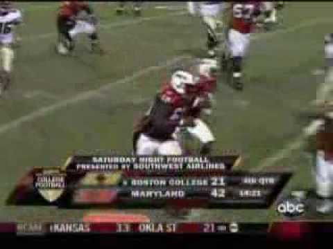 Maryland Terrapins Wide Receivers (2008) Video