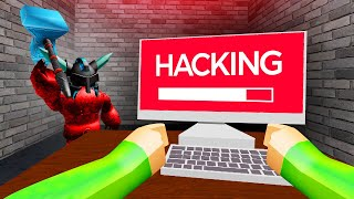 HACK The Computer BEFORE You Get CAUGHT! (Roblox)