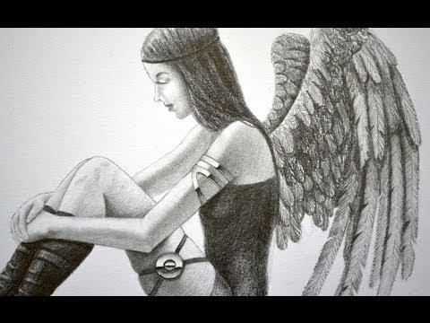 Cómo Dibujar un Ángel o un Dark Angel ¡Video interactivo