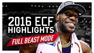 LeBron James ECF Offense Highlights VS Raptors 2016 Playoffs - ABSOLUTE DOMINANCE!