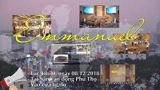 """Thánh Nhạc Emmanuel: Sân Phú Thọ Đang """"Nóng"""" Lên Từng Giờ"""