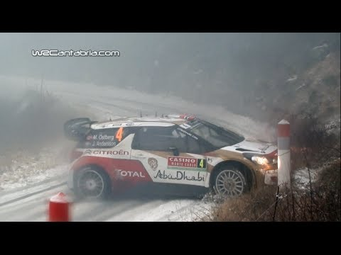 Best of WRC Montecarlo 2014 | Drift, Crash & Maximum attack [HD]