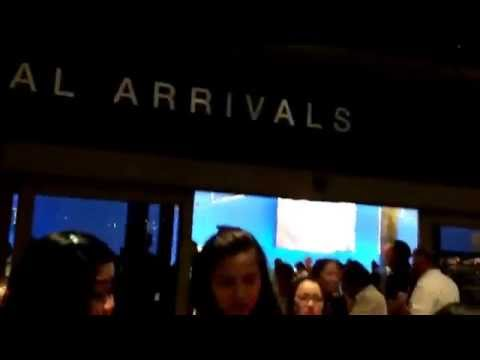 Xian lim and kim chu asap live in LA airport arrival