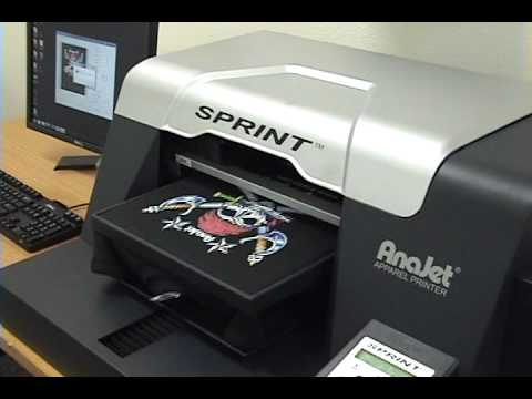 Fastest t shirt printer on the market direct to garment for Computerized t shirt printing machine