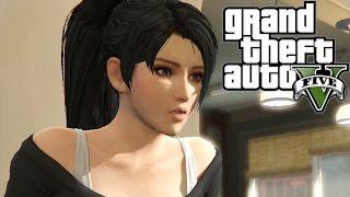 Momiji Dead Or Alive 5 in GTA V Missions Cut-Scene
