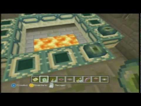 Minecraft Xbox 360 Portal Enderman 1.0.1