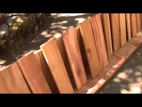 How to make planter boxes from cedar fence boards