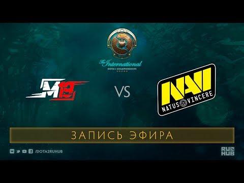 M19 vs Na`Vi, The International 2017 Qualifiers [GodHunt, V1lat]