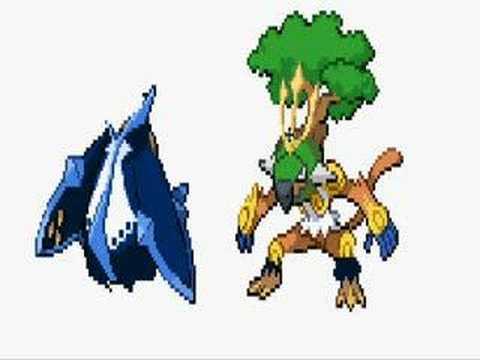 Pokemon Sprites,Empoleon,Torterra,Infernape!