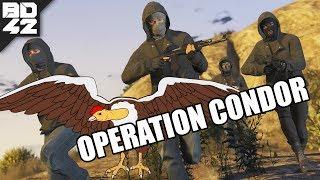 OPERATION CONDOR! GTA V Multiplayer HEIST MOD