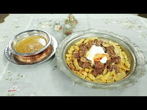 Sahrap'la İftar Sofrası - Etli Hingel Tarifi