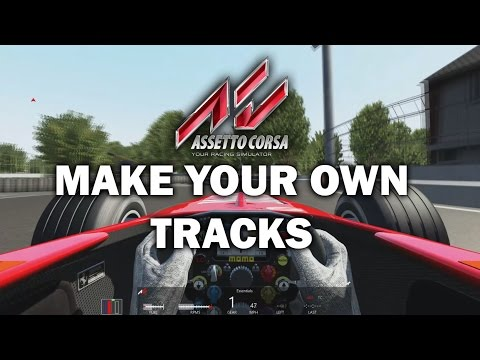 Race Track Builder - How to make Racetracks for Assetto corsa - Fully voiced tutorial.