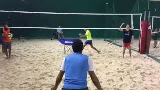 Beach Volley Training Defense