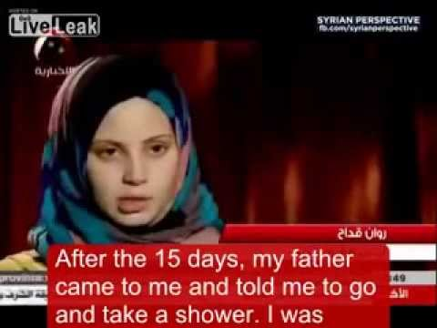Syrian Rebel Father Allows Al Qaeda Rebels To Repeatedly Rape 15 Year Old Daughter video