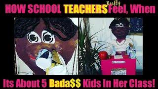 "Awkward (Hood) Puppets ""How School Teachers Really Feel"""
