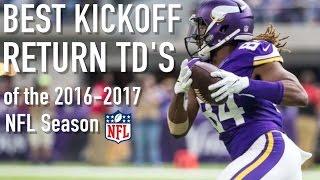 NFL: Best Kickoff Return Touchdowns of '16-17 Season