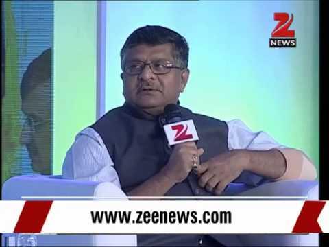 One year of Modi govt: Exclusive talk with IT Minister Ravi Shankar Prasad