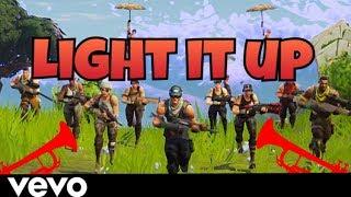Major Lazer Light It Up Feat Nyla Fuse Odg Fortnite Parody
