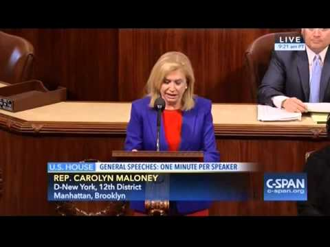 Congresswoman Carolyn Maloney