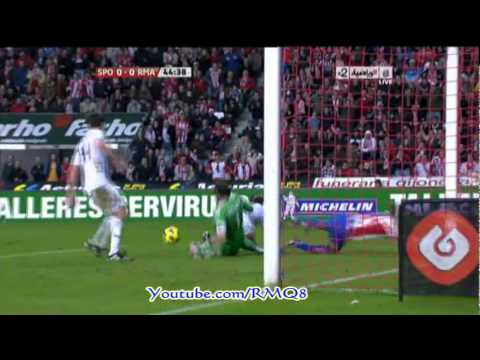 Sporting Gijon Vs Real Madrid Goal + Full Highlights Week 11 Liga BBVA 2010-2011