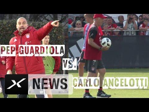 Carlo Ancelotti vs. Pep Guardiola: Katalanischer Heißsporn gegen italienischen Staatsmann