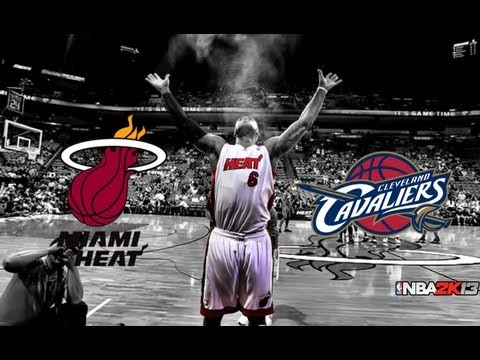 Miami Heat vs. Cleveland Cavaliers 98-95 | Lebron James returns! | 03-20-2013 | NBA 2k13