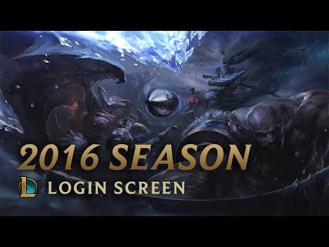 League Of Legends - 2016 Season - Login Screen