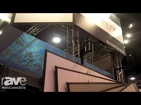 InfoComm 2016: Screen Line Features 4Rent Projection Screens