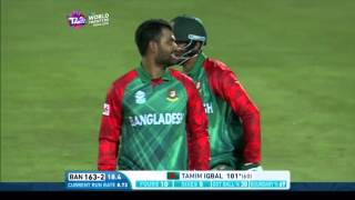 Nissan Play of the Day: Tamim Iqbal's first T20I century