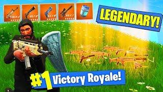 *NEW* LEGENDARY ONLY GUNS MODE In Fortnite Battle Royale!