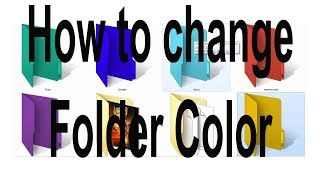 how to change folder color in windows 7