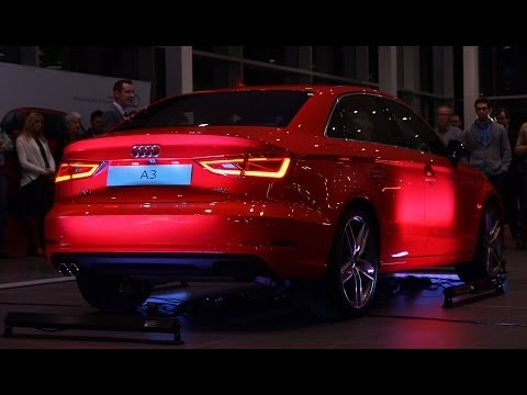 2015 Audi A3 Sport Sedan Canadian Unveil - Launch Video