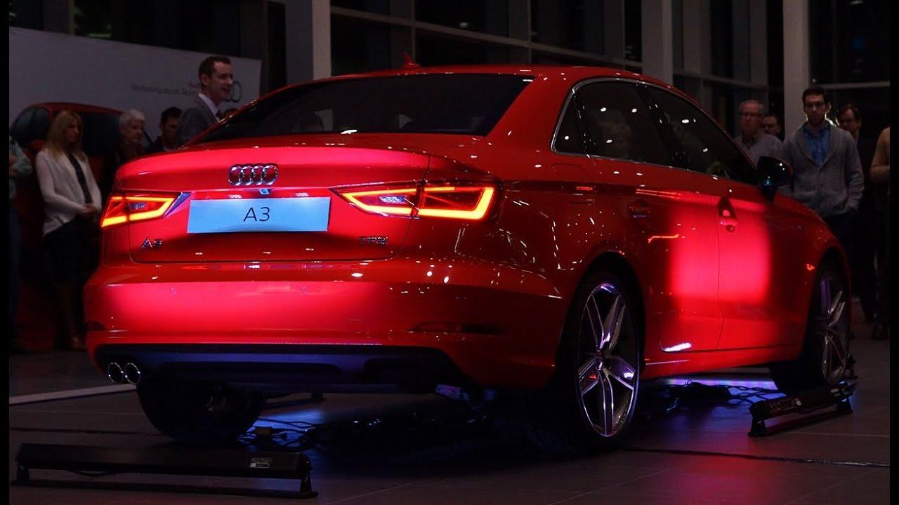 Limousine For Sale >> 2015 Audi A3 Sport Sedan Canadian Unveil - Launch Video - YouTube
