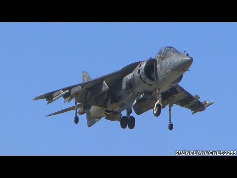 2013 MCAS Yuma Air Show - AV8B Harrier Demo