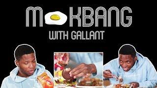 Mukbang With R&B Singer Gallant! (Korean Food Taste Test)