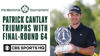 Patrick Cantlay triumphs with final-round 64 | The Memorial Tournament | CBS Sports HQ