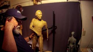Sculpting Tutorial - Captain John Lovewell Commission - He Gains a Head