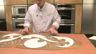 Decorative bread sculpture with dead dough part 1