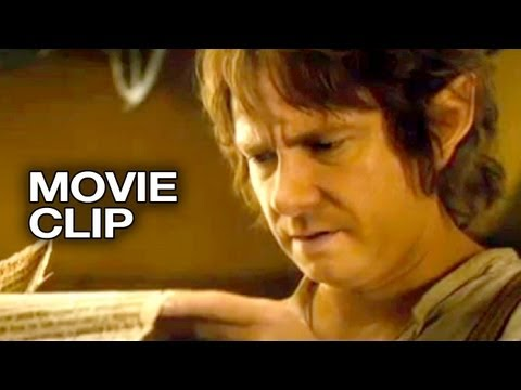 The Hobbit: An Unexpected Journey Movie CLIP - The Contract (2012) - Peter Jackson Movie HD