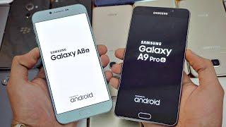 Samsung Galaxy A9 Pro (2016) vs Galaxy A8 (2016) - Speed Test! (4K)