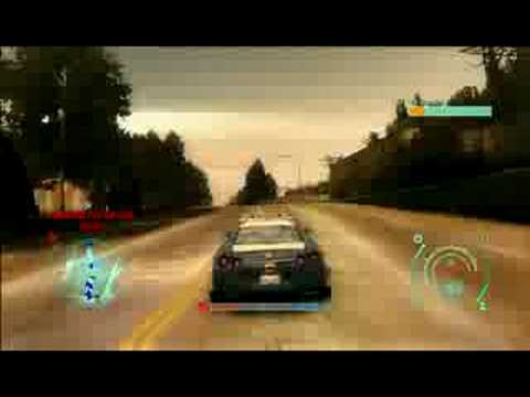 Need for Speed Undercover Gameplay - Cop Chase