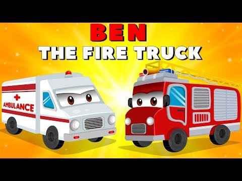 Fire Truck with The Police Car and Ambulance | Emergency Cars Cartoon for kids
