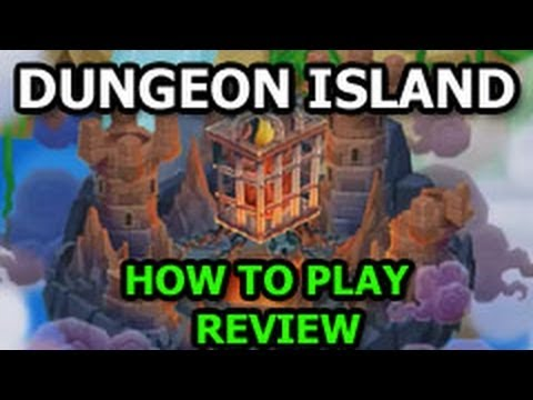 DUNGEON ISLAND Dragon City INTO THE DARK Quest How To Play DAY 1
