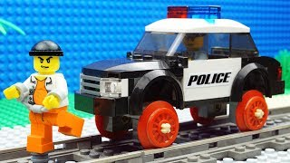 Lego Train Police - Prison Fail