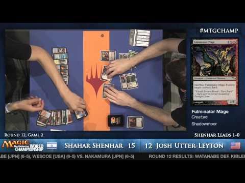 2013 Magic World Championship - Round 12 Modern - Shahar Shenhar vs. Josh Utter-Leyton