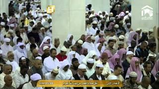 سورة الانفطار والضحى : صلاة الفجر السبت 2-5-1436 : الشيخ عبدالله الجهني