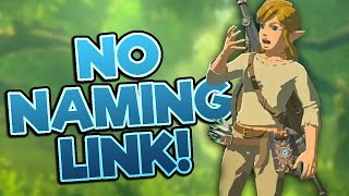 We can't change Link's name in Breath of the Wild - BotW News #1